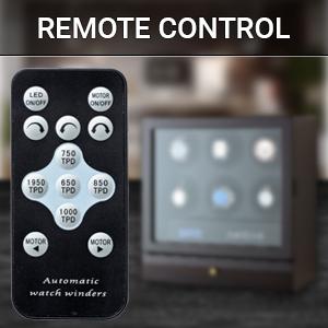 Watch winder remote control