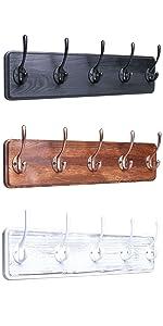 Rustic coat rack wall mounted