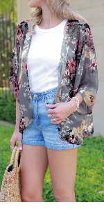 summer kimono tops