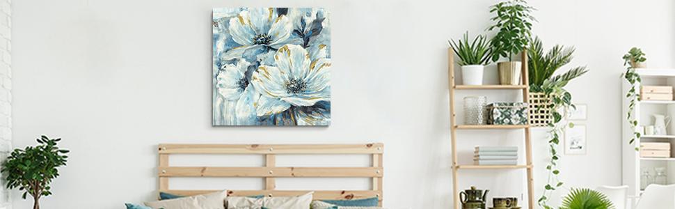 flower canva wall art