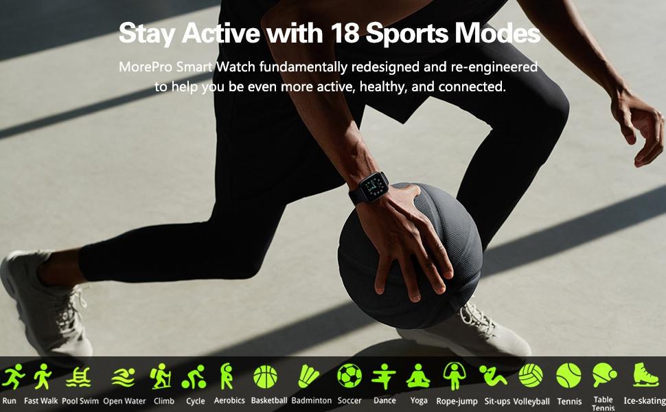 18 Sport modes