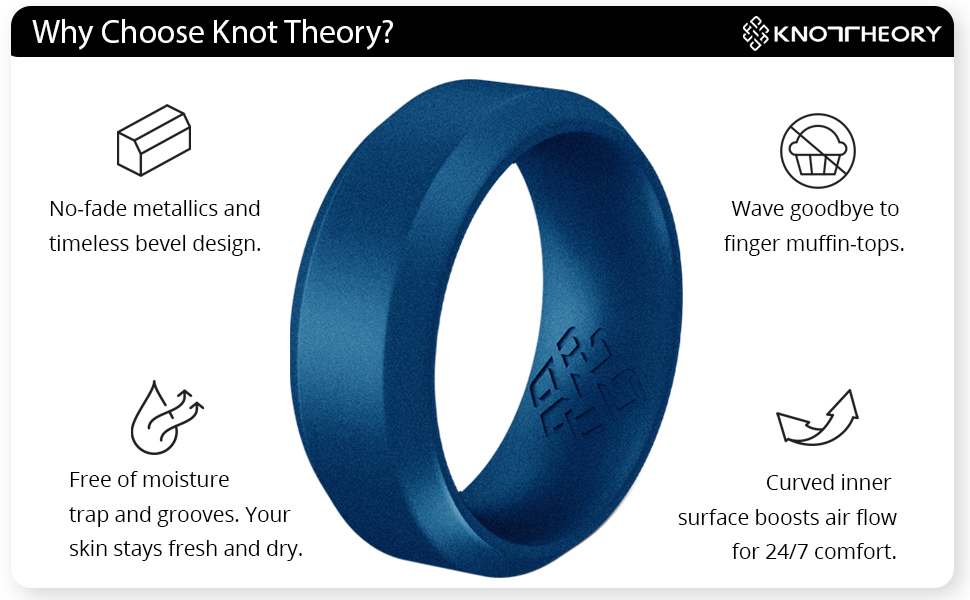 Knot Theory silicone ring benefits