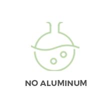no aluminum, aluminum free