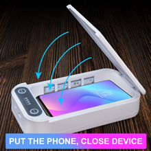 sanitizer phone light box soap charger cell sterilizer smartphone cleaner phonesoap disinfection