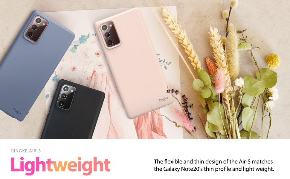 Ringke Air-S Case Designed for Galaxy Note 20, Galaxy Note 20 5G (2020)