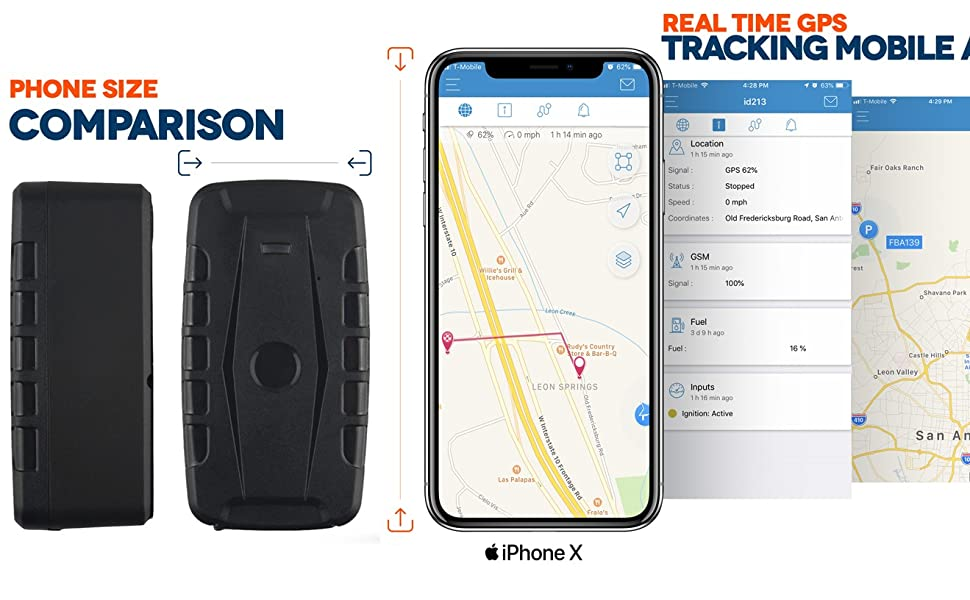 Magnetic GPS Tracker - Fleet Tracking Service and System