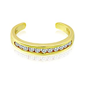 Sterling Silver toe ring for women