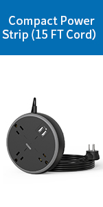Compact Power Strip
