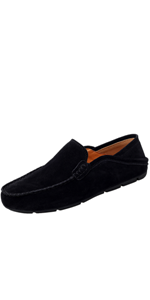 Go Tour Men's Relaxed-Fit Comfortable Casual Slip on Loafer Shoes