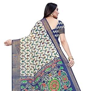 Linen Fabric Heavy Saree