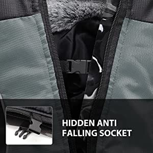 Hidden clip