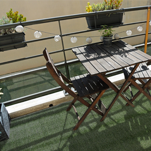 iCustom Rug Artificial Turf Balcony