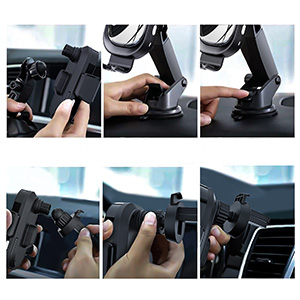 installation steps for car wireless phone charger