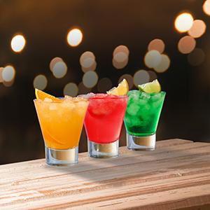 Martini bar glasses