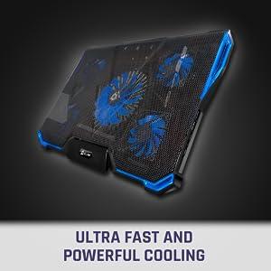 KLIM Cyclone, refrigerator, fan for lapto, laptop cooler