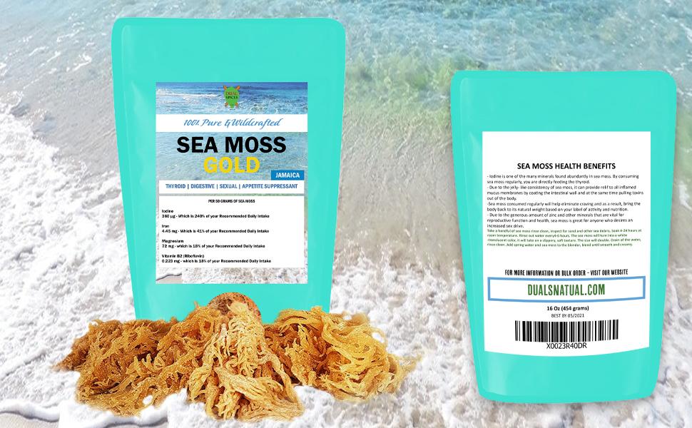 dual spice sea moss IRISH MOSS