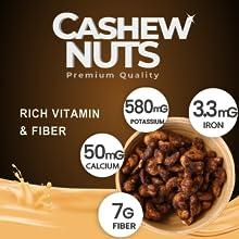 Cacao Cashew, rich fiber, snack,energy snack, healthy snack, eubiz cashew, honey cashew, roasted