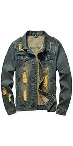 Jean jacket for men denim jacket mens jean jackets for men jean jacket Vintage jean jacket men
