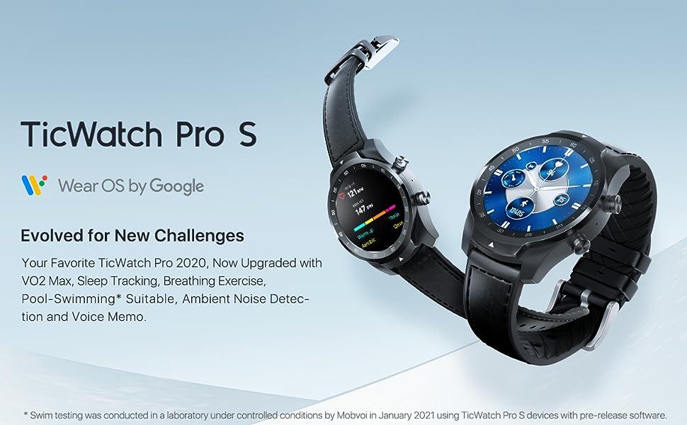ticwatch pro 2020 S