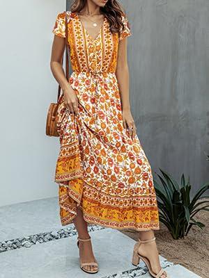 bohemian dresses for women summer maxi dress for women dresses for women casual summer  dresses