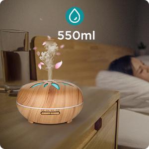 Aromatherapieapparaat gebruikt tijd