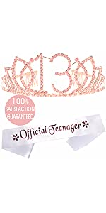 13th Birthday Gifts for Girl