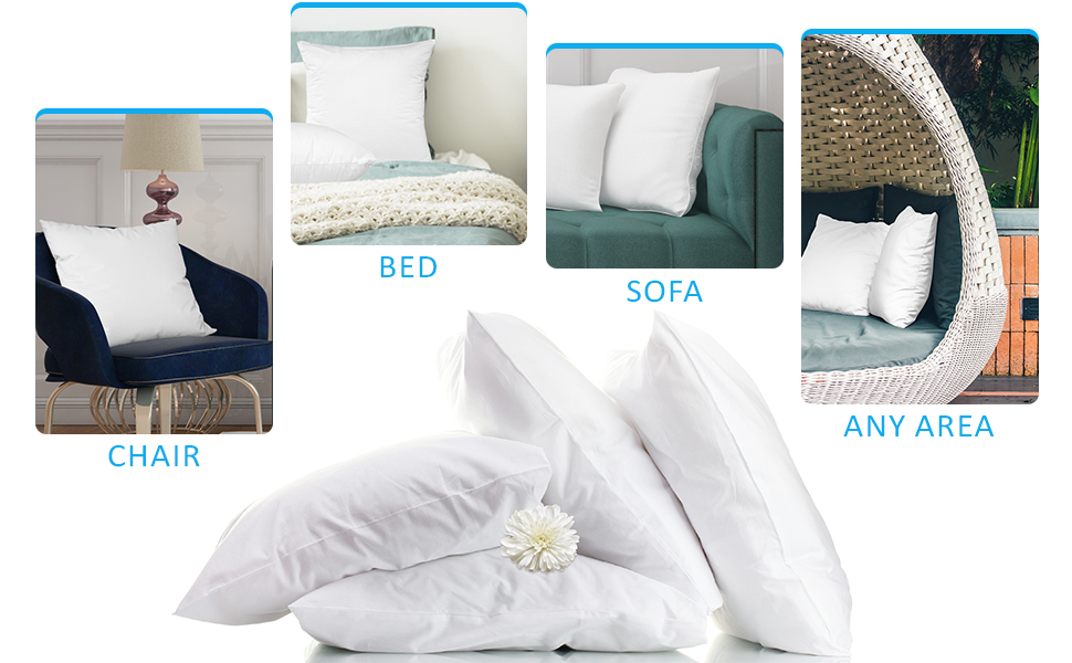 Throw Pillow Inserts uses
