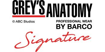 barco grey's anatomy signature scrubs logo