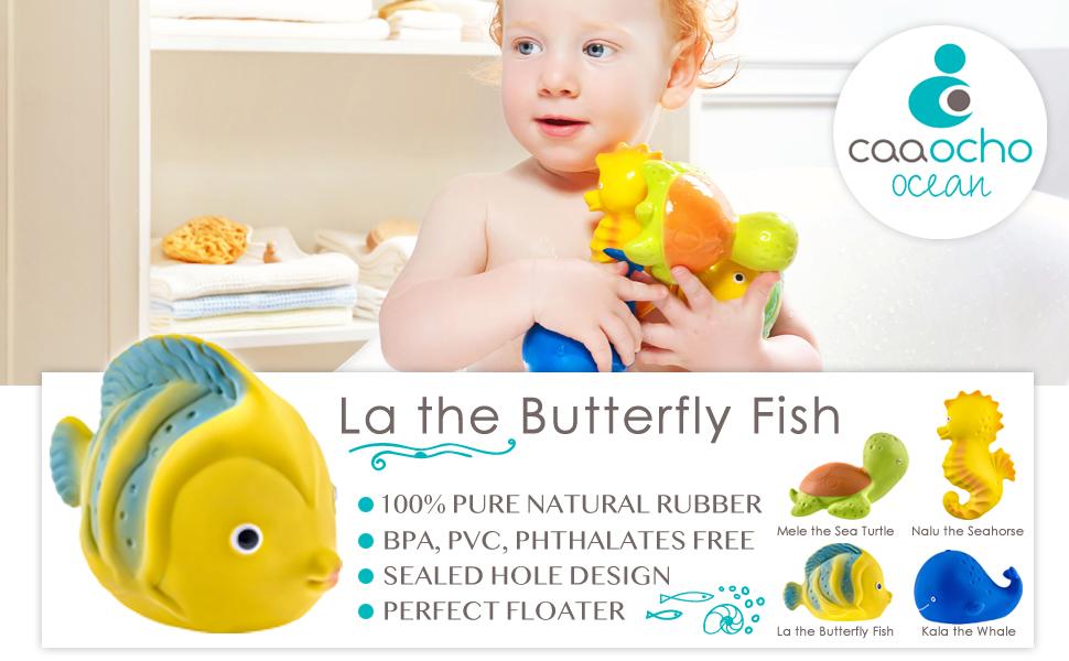 Hermetically Sealed CaaOcho Ocean-Nalu The Seahorse Bath Toy