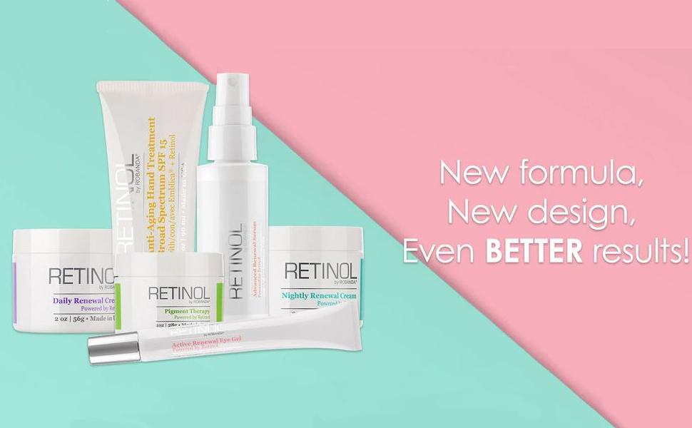 New formula, New design, Even Better Results