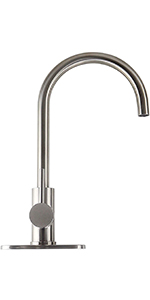 stainless steel bar sink faucet
