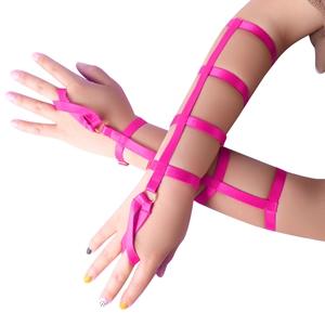 Harness Bracelet+rose Red