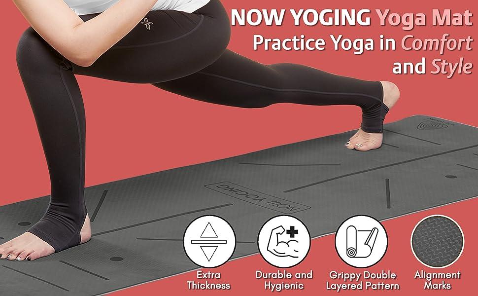 NOW YOGING Yoga mat yoga non slip