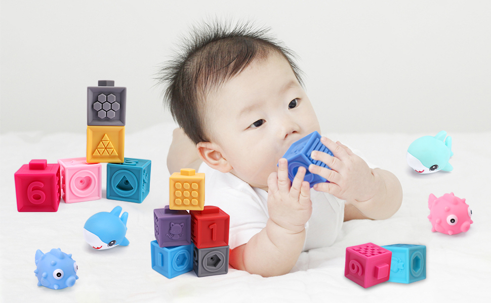 OWNONE1 BABY SOFT BUILDING BLOCKS