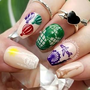 clear gel nail polish color