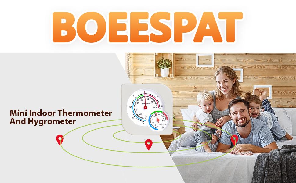 Mini Indoor Thermometer Hygrometer Temperature