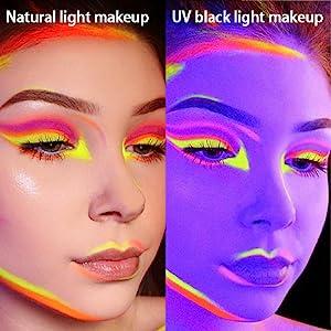 Pressed palette eyeshadow glitter colors