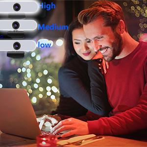 3-Level Adjustable Lighting