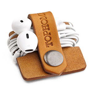 Tophome Cord Organizer, earbud holder, Organizers, Headphone Holder, Earbud Wrap, Earbud Case