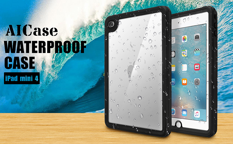AICase Estuche Impermeable para Apple iPad Mini 4 con Touch ...