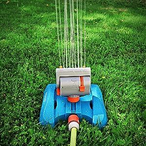 arroseur oscillant arrosage jardin