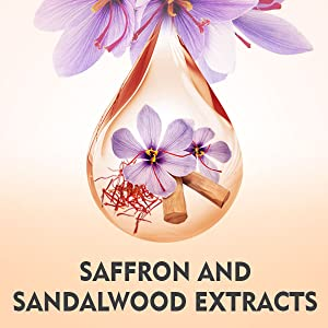 Saffron and sandalwood extracts