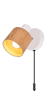 Amazon Com Tehenoo Lámpara De Pared Enchufable Home Improvement