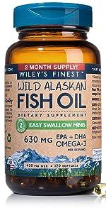 easy swallow mini omega-3 fish oil pills