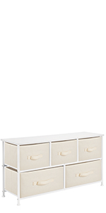 Wide 5 Drawer Chest