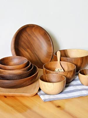 wooden bowls wood counters butcher block bamboo