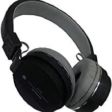 sh12 bluetooth headphone black color