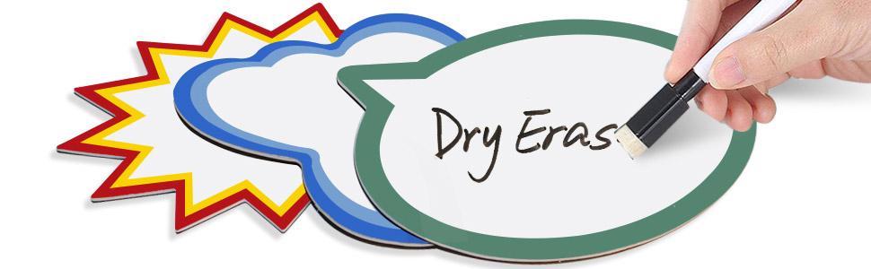Dry erase bubbles