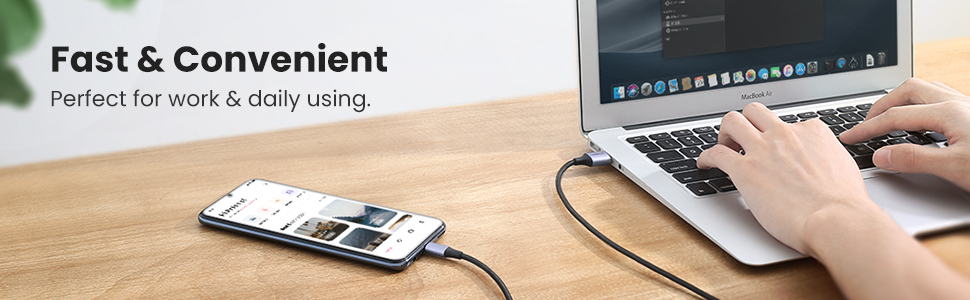 UGREEN Micro USB Cable 18w USB A to Micro B Android Charing Lead Fast Charge