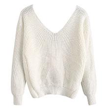 v neck sweater